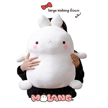 Amazon.com: Molang 60 cm (24inch) almohada muñeca de juguete ...