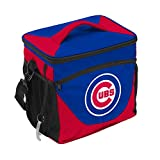 Logo Brands MLB Chicago Cubs 24 Can Cooler, Team Color, Small