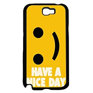 Have a Nice Day - TPU Rubber Silicone Phone Case Back Cover (Galaxy Note 2)