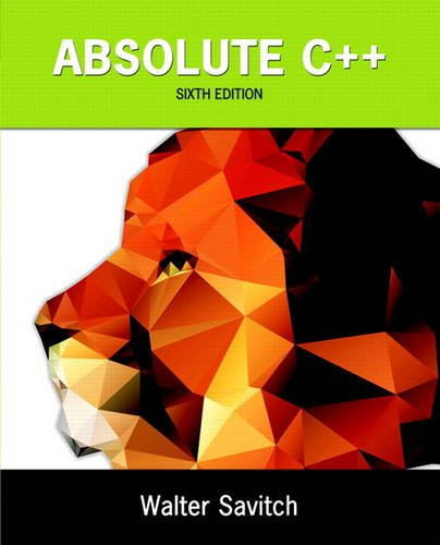 Absolute C++ plus MyLab Programming with Pearson eText -- Access Card Package (6th ()