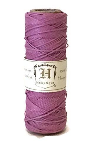 Hemptique Hemp Cord Spool, 10 lb, Light Pink ()