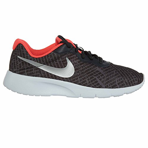 NIKE Kids Tanjun Print (GS) Running Shoe Anthracite/Metallic Platinum sale outlet locations cheap for nice clearance for sale amazon footaction cQwEy9