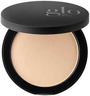 Glo Skin Beauty Pressed Base - Natural Light | Mineral Pressed Powder Foundation | 24 Shades, Buildable Coverage, Matte Finish