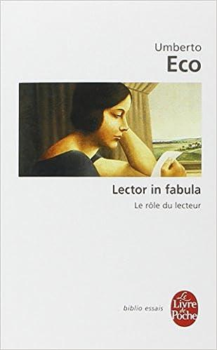 Amazon Com Lector In Fabula Le Role Du Lecteur Le Livre