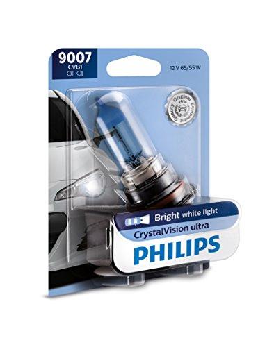 Philips 9007 CrystalVision Ultra Upgrade Bright White Headlight Bulb, 1 Pack
