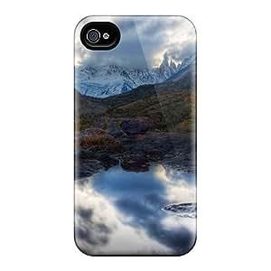 LatonyaSBlack RAvdWwy7400etpeR Case Cover Iphone 4/4s Protective Case Fantastic Rock Pool