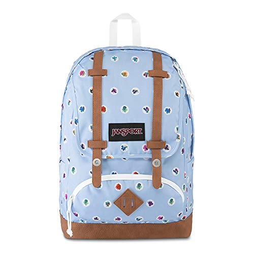 JanSport Baughman 15″ Laptop Backpack – School Book Bag | Fleur De Dot Print