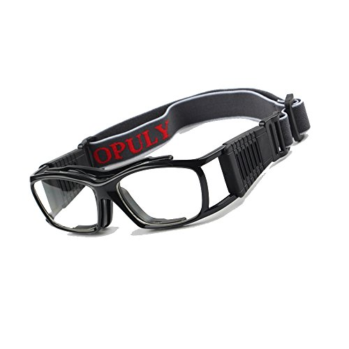 Vintage Basketball Glasses Slimfit Protective Safety Sports Goggles ()