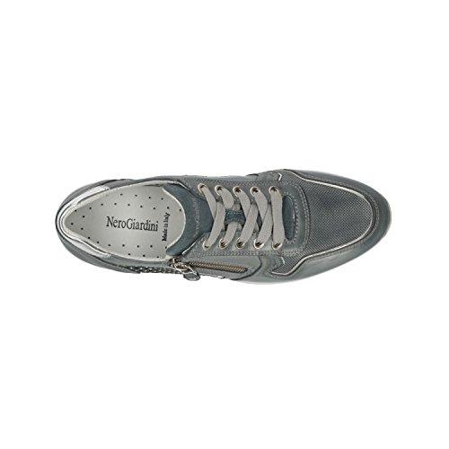 P805241D 5241 Scarpe Navy Giardini Donna Sneakers Nero x6YBfUw