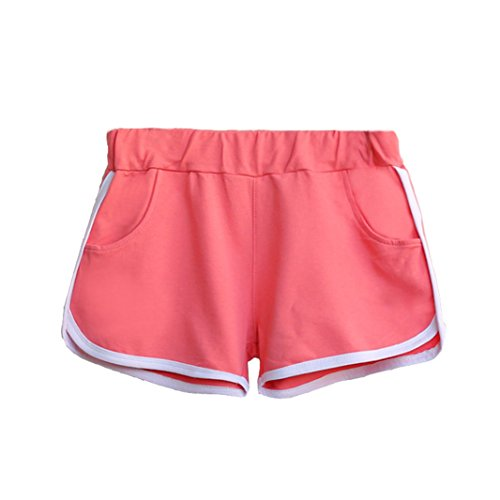 Estate DELEY Fitness Pants Allenamento Pigiama Hot Shorts Spiaggia Sportivi Running Rosa Shorty Donne Casual zz6UFrS