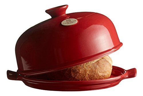 (Emile Henry Made In France Bread Cloche, 13.2 x 11.2