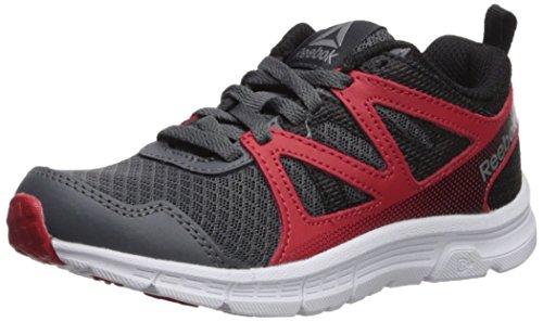 Reebok Baby Run Supreme 2.0 Sneaker, Alloy/Primal Red/Black, 13 M US Toddler