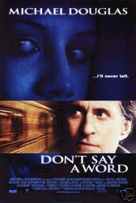 Don't Say A Word Double Sided Original Movie Poster 27x40