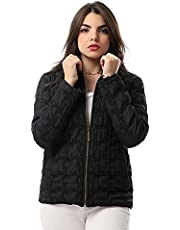 andora Quilted Side Pockets Zip-up Jacket for Women