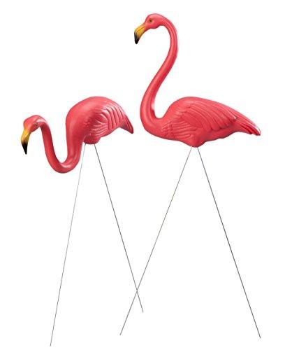 Union 62360 Original Featherstone Pink Flamingo Yard Lawn Ornaments 38 Set Of 2