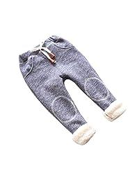Tenworld Baby Leggings, Toddler Girls Winter Warm Fleece Lined Legging Pants