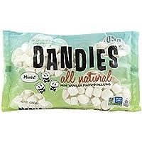 Dandies Air Puffed Mini-Marshmallows Gluten Free Classic Vanilla -- 10 oz - Vegan