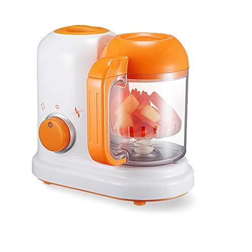 jiulonerst All in One Baby Food Processor Complementary Food Machine Steam Vapor Stir Cook Blender, DIY Electric Heating Healthy Maker