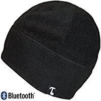 Tooks Bluetooth Wireless POLARCAP Fleece Headphone Beanie With Built-in Removable Headphones | Integrated Microphone, Volume and Music/Call Control | Listen To Music and Handle Phone Calls Remotely