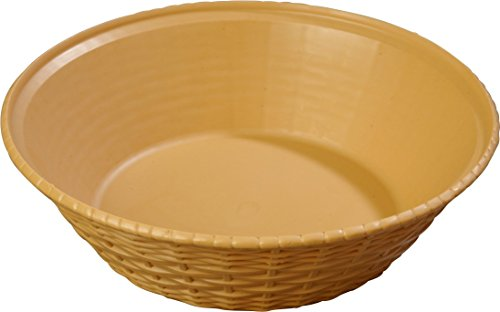 Carlisle 652467 WeaveWear Round Serving Basket, 9
