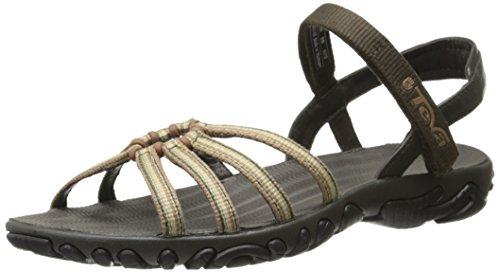 Teva Women's Kayenta Strappy Sandal, Balladere Brown, 5 M US