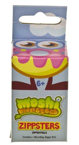 "Wurley ~0.8"" Mini-Figure Zippster: Moshi Monsters Zippster Series #1 (Random Zipper Pull Color)"