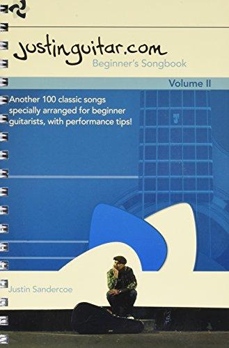 Justinguitar.com Beginner's Songbook Volume 2 - Free Guitar Chords Pop Songs