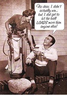 Golf birthday cards amazon kitchen home birthday card plk5356 humorous male golf m4hsunfo