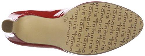 Rouge chili Patent Escarpins Femme 22426 Tamaris CwYqPxYUt