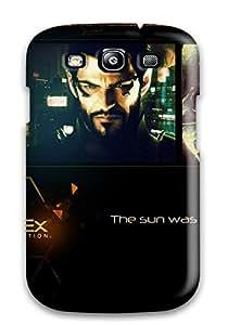 Special Design Back Deus Ex Human Revolution 2011 Phone Case Cover For Galaxy S3