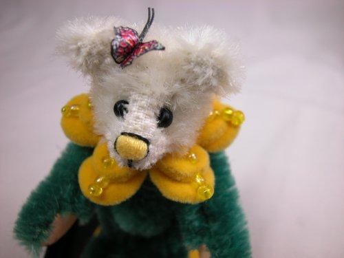 "World of Miniature Bears 3"" Mohair Bear Marigold #1101 Collectible Miniature Bear Made by Hand"