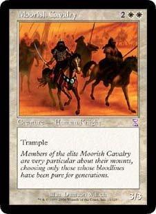 Moorish Cavalry (Magic the Gathering : Time Spiral Timeshifted #11 Rare) (Time Spiral Timeshifted Magic)