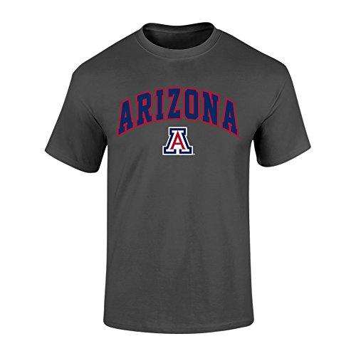 Arizona Wildcats T-shirts (Arizona Wildcats TShirt Heather Arch Gray - XL - Charcoal)
