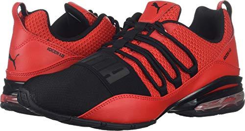 PUMA Men's Cell Regulate Sneaker, high Risk red Black, 12 M