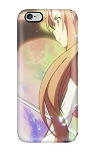 Fashion KmTwCxq13186ENJCx Case Cover For Iphone 6 Plus(screenshots Anime Anime Boys Sword Art Online Yuuki Asuna Kirigaya Kazuto Alfheim Online Aincrad)