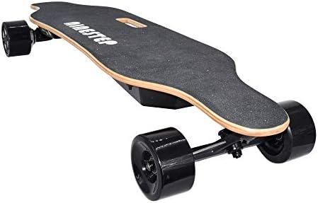 """Ninestep Skateboard électrique avec télécommande, 400 W pour moteurs sans balais pour professionnels, platine électrique 37"""" pour adolescents et adultes, 20 MPH Vitesse maximale de 120 kg"""