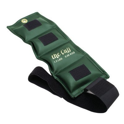 Cando 10-0204 Olive Cuff, 1.5 lbs Weight, For Wrist or Ankle by Cando