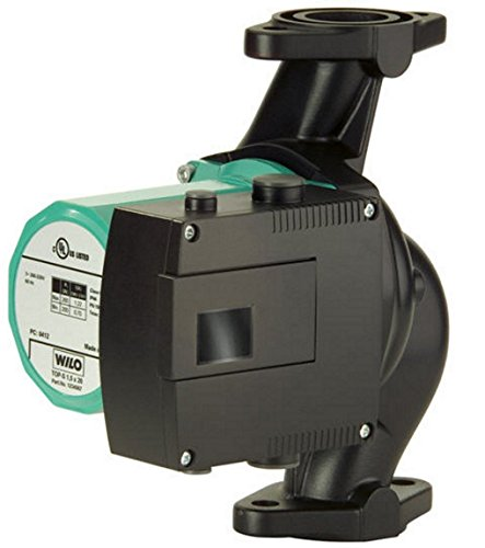 Hydronic Circulating Pump - Wilo 2067544 Top S 1.25 by 35 Wet Rotor Hydronics Circulating Pump, 115-Volt