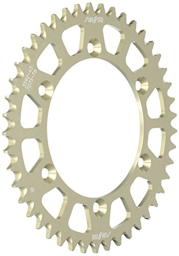 Sunstar 5-359245 Works Triplestar 45-Teeth 520 Chain Size Rear Aluminum Sprocket