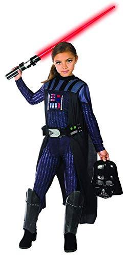 Rubie's Girls Star Wars Classic Darth Vader Costume, Medium