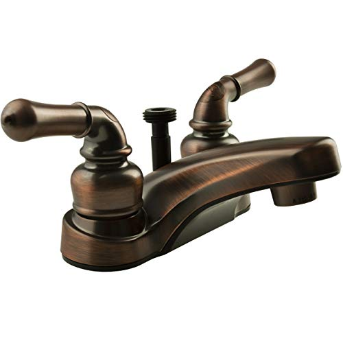 - Dura Faucet (DF-PL720C-ORB) RV Lavatory Faucet with Shower Hose Diverter in Oil Rubbed Bronze - RV Bathroom Faucet for All RVs and Motorhomes