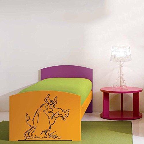 Vinyl Decal Mural Sticker Funny Boar Children'S Nursery Kids Room Window Sv2082 by VSDecals