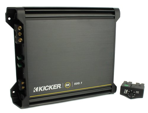 "Kicker 40TCWS104 10"" 600W Car Thin Mount Loaded Subwoofer Sub+Box+Amplifier Amp"