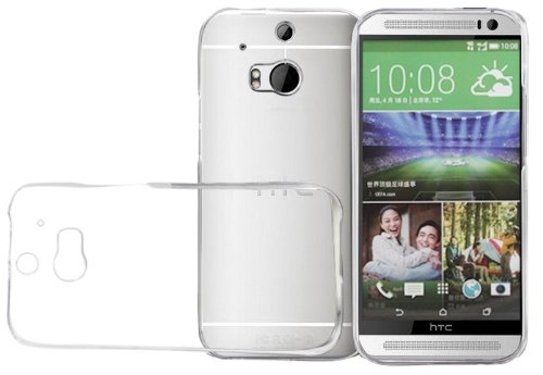 HTC One M8 Case, AceAbove [Slim-Fit] Ultra Lightweight Polycarbonate Hard Shell Cover for HTC One M8 2014 Release (Frost Clear) ()