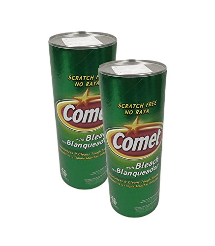 Set 2   Comet Cleanser With Bleach 21Oz All Purpose Cleanser