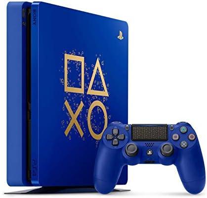 Playstation 4 Slim 2TB SSHD Limited Edition Days of Play Consola Azul con Controlador Bundle Mejorado con Unidad híbrida de Estado sólido rápido: SONY: Amazon.es: Electrónica