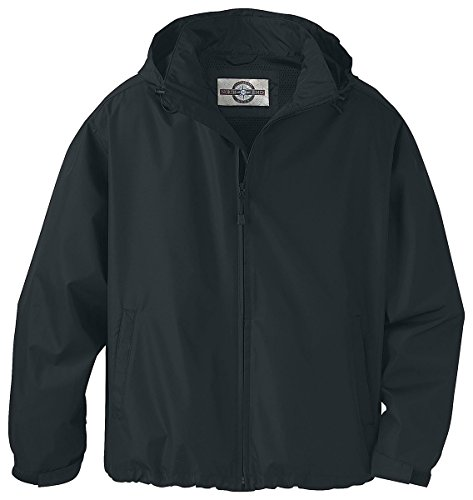 A-lite Hood - Ash City - North End Mens Techno Lite Jacket 88083 -BLACK 703 2XL