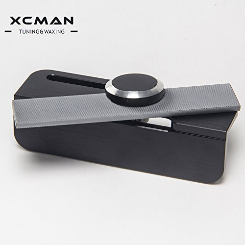 XCMAN 2018 Alpine Snowboard Freeride Ski Hard Aluminum Racing Side Bevel Angle File Guide CNC Made Clamp Device-2°