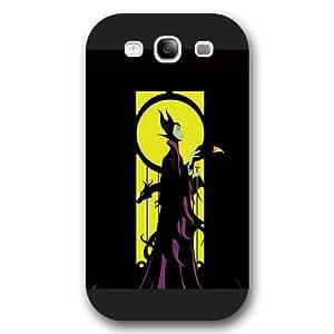 Customized Black Hard Plastic Disney Sleeping Beauty Maleficent Samsung Galaxy S3 Case hjbrhga1544