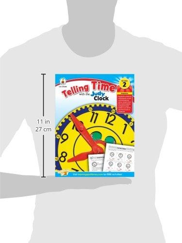 Telling Time with the Judy® Clock, Grades 2 - 3: Carson-Dellosa ...